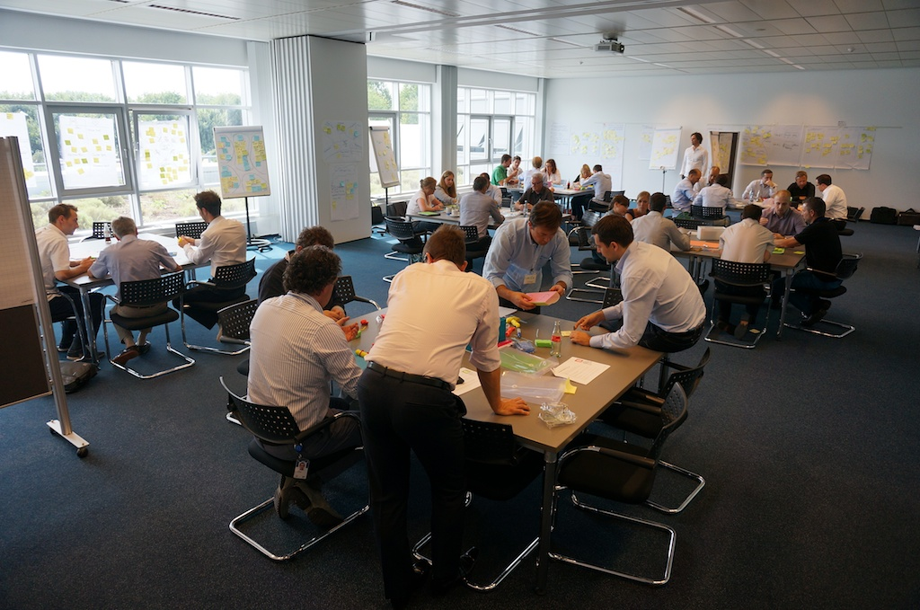 Facilitating a Design Collaboration Session with SAP in Germany